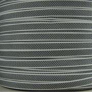 Selve Optrekband 14 mm, 5 meter - Zwart/wit