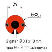 Simu T3,5 12V / 24V Buismotor