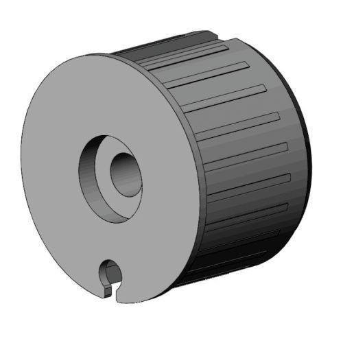 Kunststof lagerprop 78 mm met lager