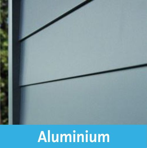 Aluminium Windscherm Palu